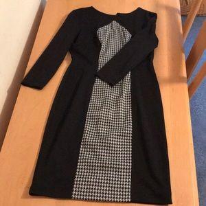 Quarter length zip up dress